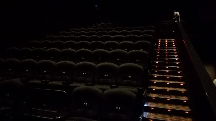 全96席のコンパクトなシアター