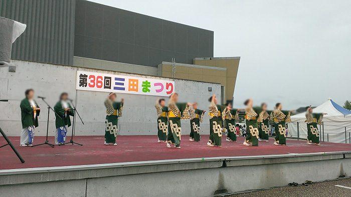 キレッキレのダンス