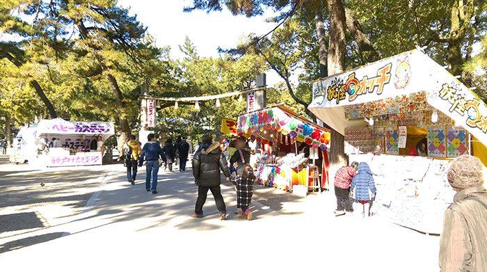 阪神西宮駅から西宮神社