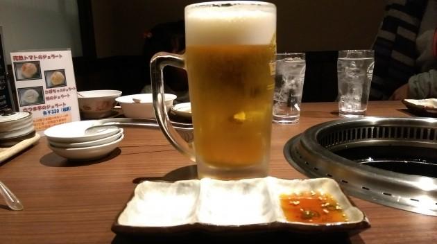 ビール大ジョッキ!
