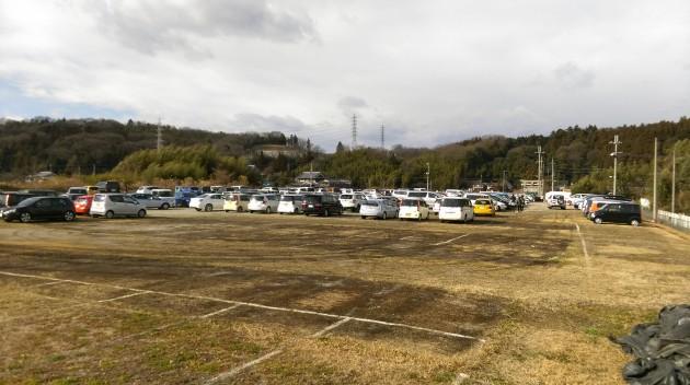 塩田八幡宮の無料駐車場