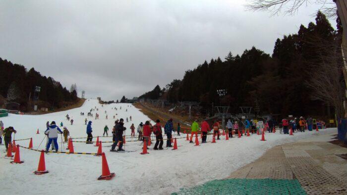 午後の滑走スタート!