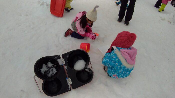 雪だるまを綺麗に作る道具
